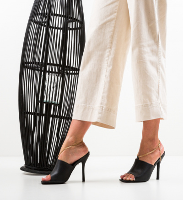 Sandale Cristodulo Negre