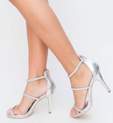 Sandale Dave Argintii