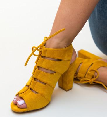 Sandale Delto Galbene