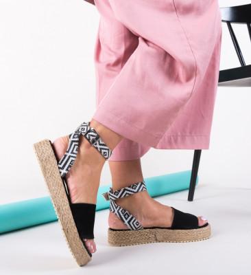Sandale Folclor Negre
