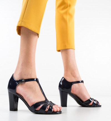 Sandale Frantyz Bleumarin