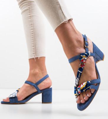 Sandale Gilbe Albastre