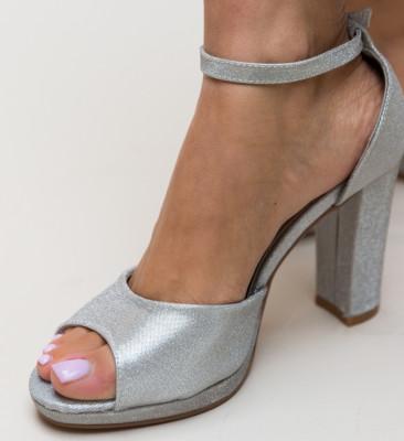 Sandale Glamone Argintii
