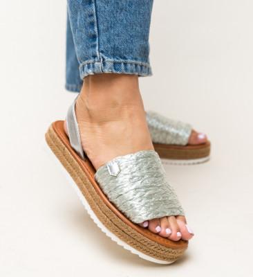 Sandale Gregos Argintii