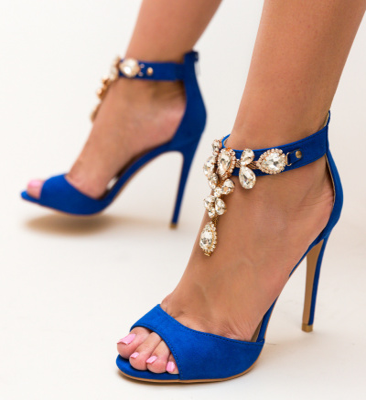 Sandale Human Albastre