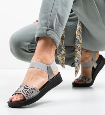 Sandale Lemy Gri 2