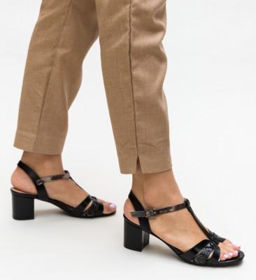 Sandale Leopoldo Negre