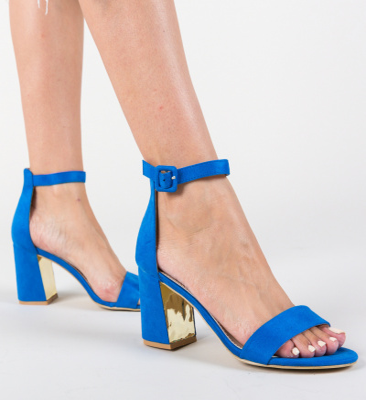 Sandale Morely Albastre 3