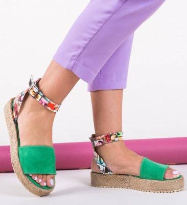 Sandale Papeer Verzi