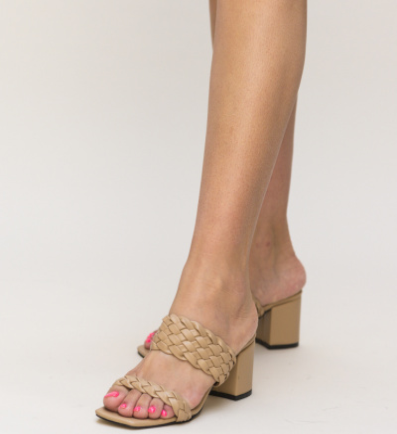 Sandale Pesto Nude