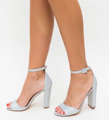 Sandale Romaniuc Argintii