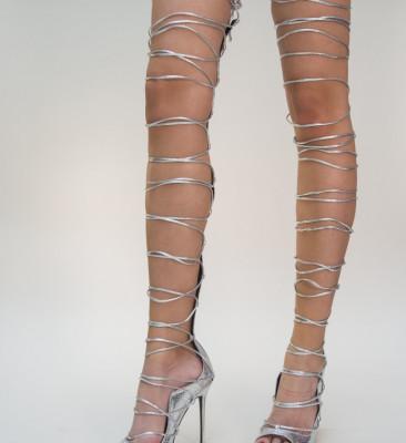 Sandale Sharon Argintii