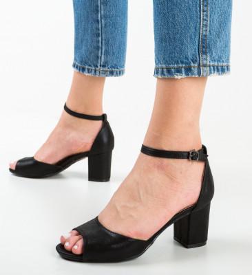 Sandale Sieni Negre 4