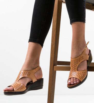 Sandale Silico Bej