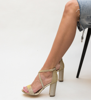 Sandale Tobi Aurii