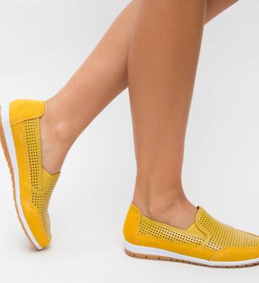 Pantofi Casual Embo Galbeni