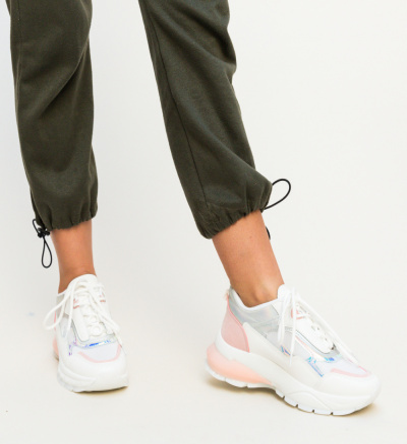 Pantofi Sport Husera Albi 3