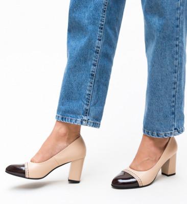 Pantofi Darla Bej