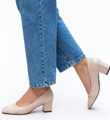 Pantofi Elif Bej