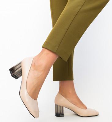 Pantofi Trent Bej
