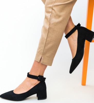 Pantofi Santos Negri