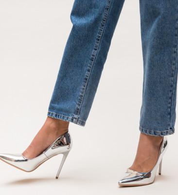 Pantofi Glen Argintii