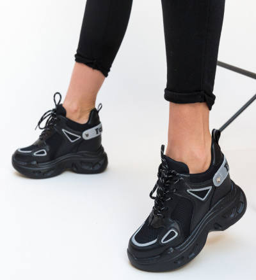 Pantofi Sport Faster Negri