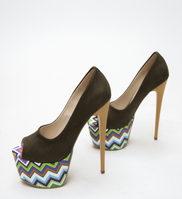 Pantofi Tristar Khaki