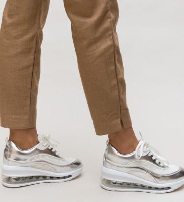 Pantofi Sport Clay Argintii