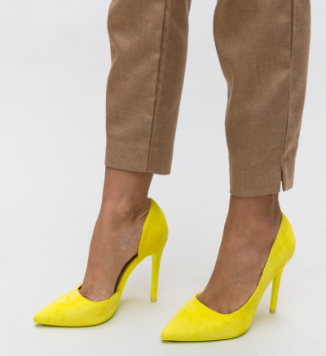 Pantofi Moses Galbeni