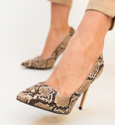 Pantofi Miami Bej