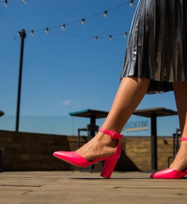 Pantofi Zavala Fuchsia
