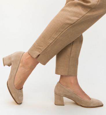 Pantofi Vardovan Bej