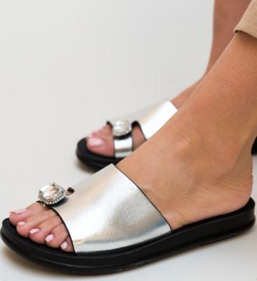 Papuci Blade Argintii