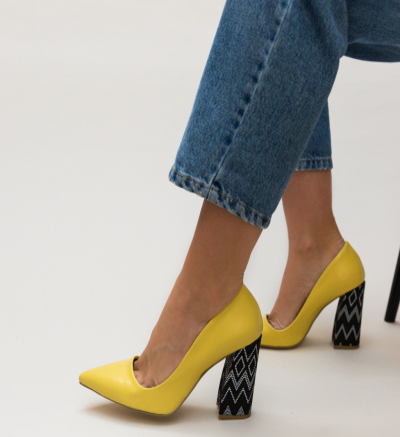 Pantofi Jai Galbeni