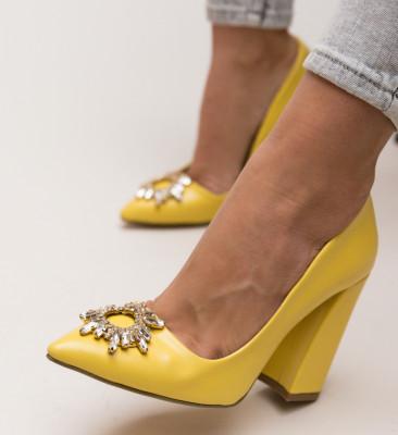 Pantofi Maverick Galbeni