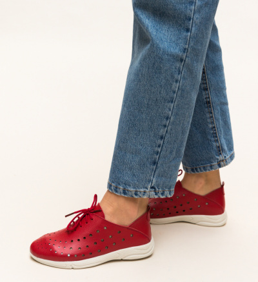 Pantofi Casual Jairo Rosii