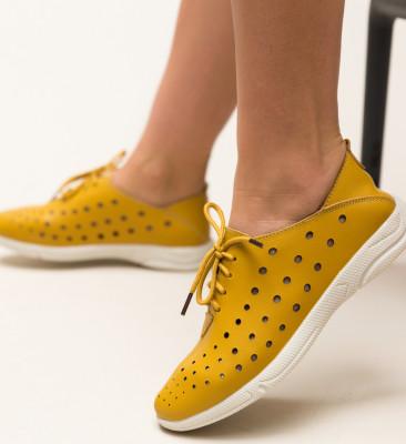 Pantofi Casual Jairo Galbeni