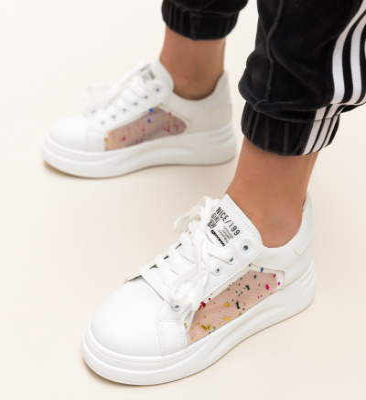 Pantofi Sport Sumbro Albi