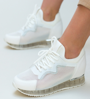 Pantofi Sport Elimina Albi