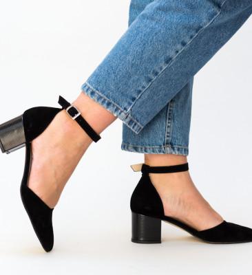 Pantofi Masono Negri 2
