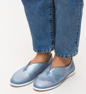 Pantofi Casual Bratis Albastri