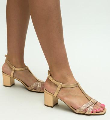 Sandale Pear Aurii