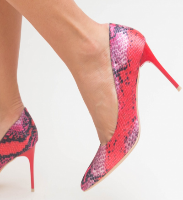 Pantofi Aba Rosii
