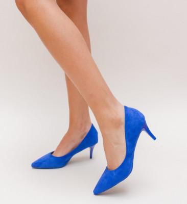 Pantofi Aida Albastri