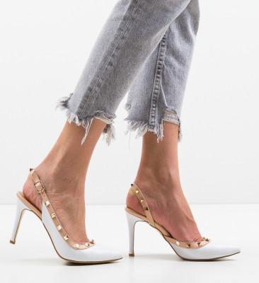 Pantofi Alenro Albi