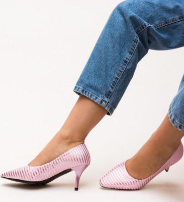Pantofi Allan Roz