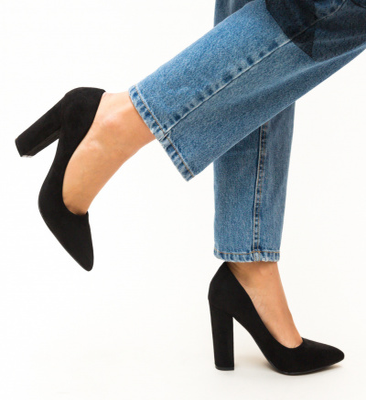 Pantofi Amani Negri