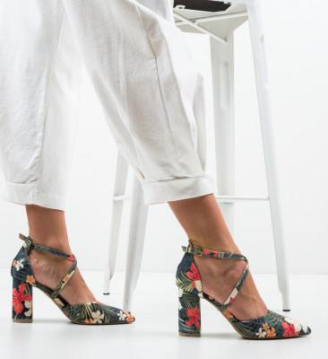 Pantofi Amri Multicolor