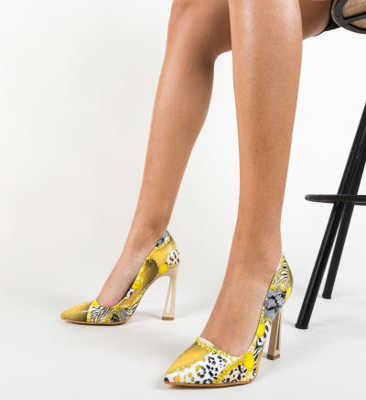 Pantofi Asterix Galbeni